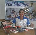Fernando Sanchez, Master Replica boat builder.