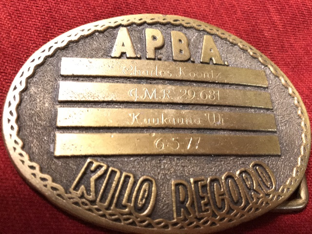 1977 A.P.B.A. award